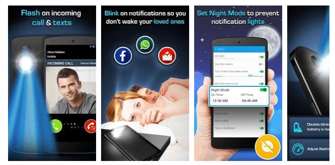 3 Flash Alerts LED - Call, SMS