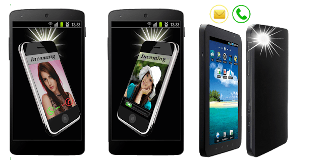 6 Flash On Call & SMS Alert