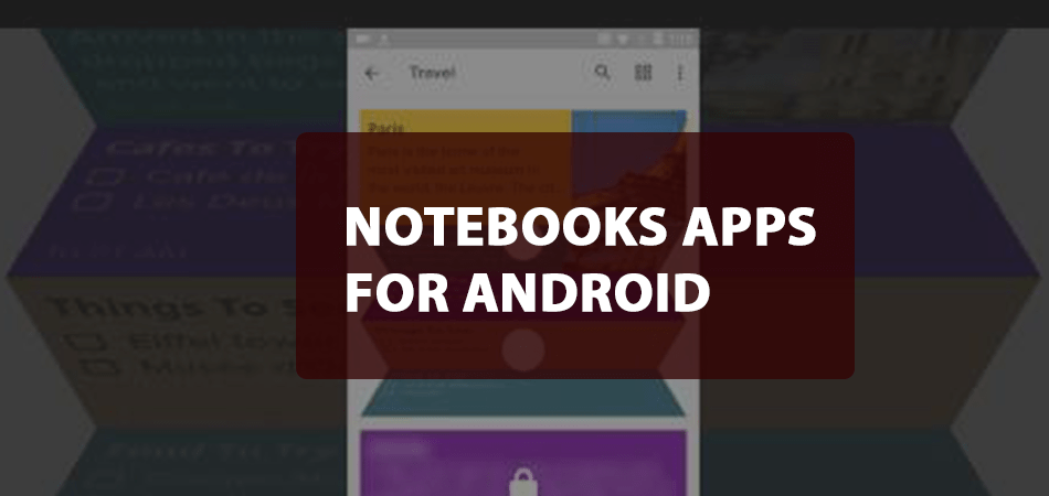 notebooks apps for android