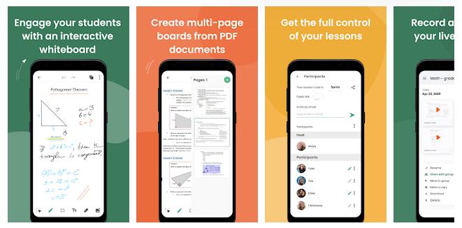 1 LiveBoard Interactive Whiteboard App
