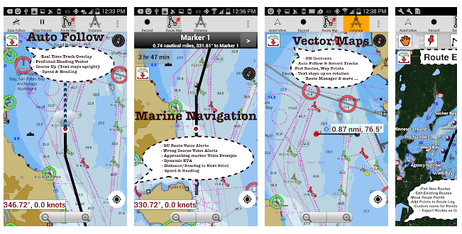 1 Marine Navigation Maps & Nautical Charts