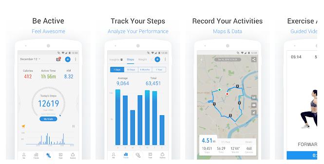 1 Walking & Running Pedometer for Health & Weight