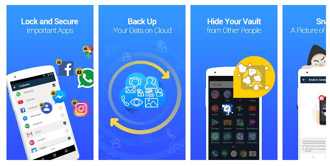 2 Vault - Hide Pics & Videos, App Lock, Free Backup