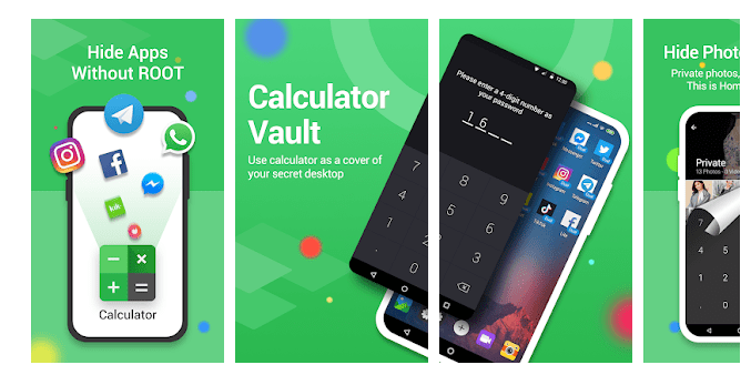 3 Calculator Vault