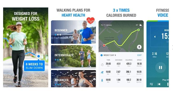 3 Walking App - Walking for Weight Loss