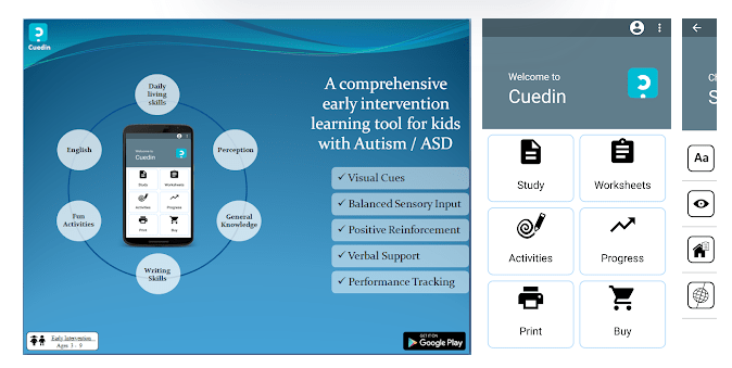 4 Autism Early Intervention App