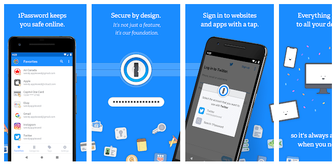 6 1Password - Password Manager and Secure Wallet