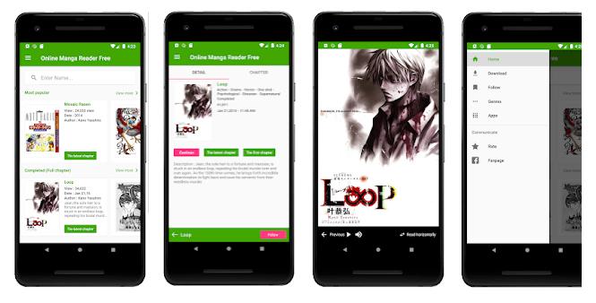 8 Free Manga Reader Online Offline