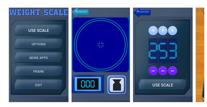 1 Weight Scale Simulator Prank