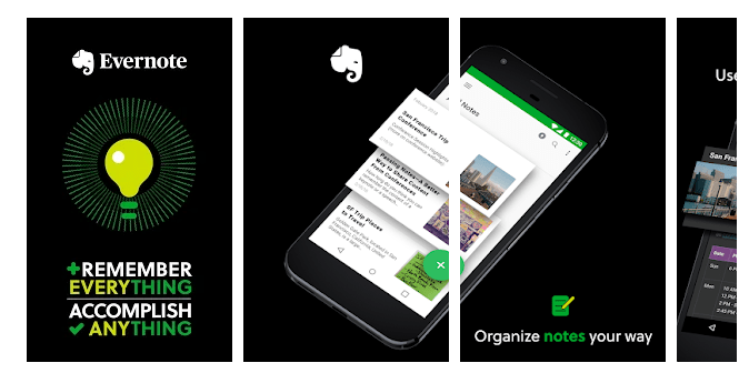 11 Evernote - Notes Organizer & Daily Planner