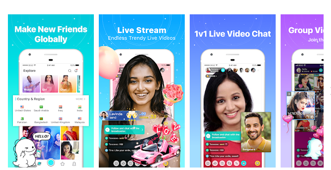 3 Bigo Live - Live Stream, Live Video & Live Chat