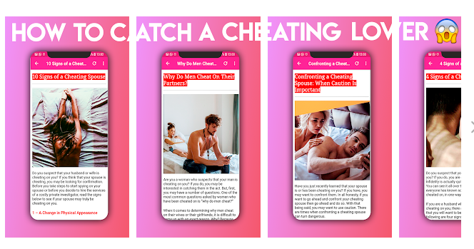 3 Catch a Cheating Lover