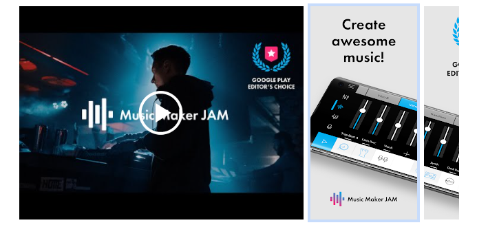 3 Music Maker JAM - Song & Beatmaker app