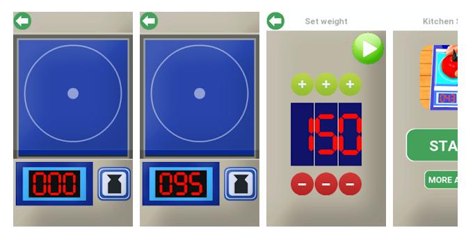 6 Kitchen Scale in grams joke