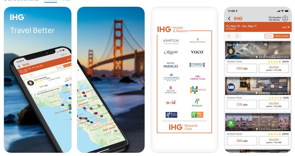 7 IHG® - Hotel booking & rewards
