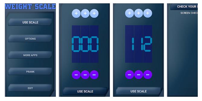 8 Digital Scale Simulator
