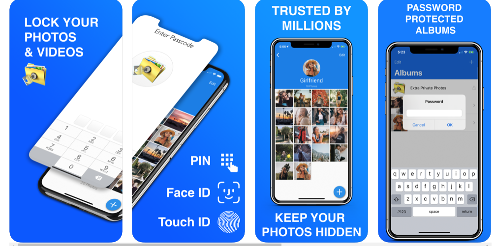 8 Private Photo Vault - Pic Safe