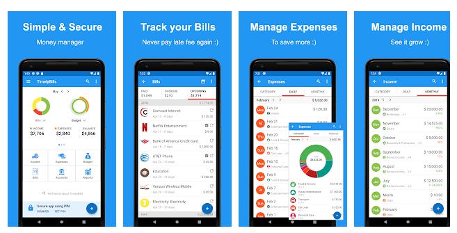 9 Money Manager App, Budget, Expense tracker & Bills
