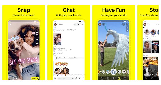 4 Snapchat