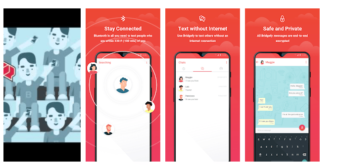8 Bridgefy - Offline Messaging