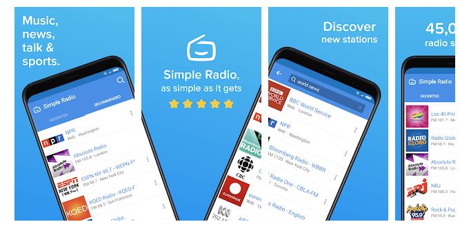 6 Simple Radio – Free Live AM FM Radio & Music App